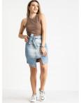 E 0056-2 ONDI юбка женская голубая котоновая (5 ед. размеры: 36.38/2.40.42): артикул 1120079
