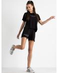 8340-1 черный женский костюм  трикотажный (4 ед. размеры: 42.44.46.48): артикул 1123367