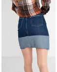 2576 XRay юбка джинсовая синяя котоновая (6 ед. размеры: 34.34.36.36.38.40): артикул 1118545