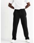 16300-1 черные брюки спортивные мужские батальные (4 ед. размеры: 56.58.60.62): артикул 1118677