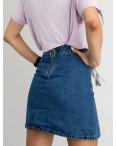 0973 Ahava юбка женская синяя котоновая  (6 ед. размеры: 25.26.27.28.29.30): артикул 1123391