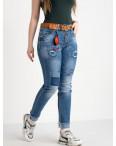 8225 Vanver джинсы женские полубатальные голубые стрейчевые ( 6 ед. размеры: 28.29.30.31.32.33): артикул 1122249