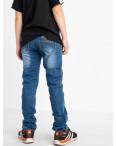 0091-6 Vingvgs джинсы юниор синие стрейчевые (7 ед. размеры: 23.24.25.26.27.28.29): артикул 1122504