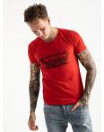2617-3 красная футболка мужская с принтом (4 ед. размеры: M.L.XL.2XL): артикул 1121031