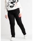 9803-1  Sunbird черные брюки женские батальные стрейчевые (6 ед. размеры: 35.36.37.39.40.42): артикул 1106641