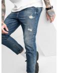 1765 мужские джинсы синие котоновые (8 ед. размеры: 42.44.44.46.46.48.48.50): артикул 1117244