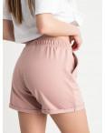 1422-4 Mishely шорты женские пудровые из двунитки (4 ед. размеры: S.M.L.XL): артикул 1122385