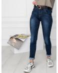 5013 OK&OK джинсы женские синие стрейчевые (6 ед. размеры: 25.26.27.28.29.30): артикул 1123475