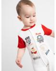 17065 Emotion kids красный комбинезон на мальчика 1-9 мес. (6 ед. размеры: 62.62.68.68.74.74): артикул 1118179