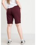 2230-4 Mishely шорты бордо женские батальные из двунитки ( 4 ед. размеры: 50.52.54.56): артикул 1122684