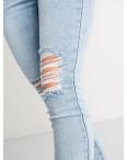 0505-2 Monkey Ride Jeansе американка голубая стрейчевая ( 6 ед. размеры: 25.26.27.28.29.30): артикул 1122250