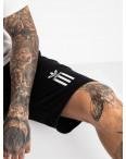 1622-1 Mishely шорты мужские черные из двунитки(4 ед. размеры: M.L.XL.XXL): артикул 1121719