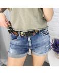 6617 Whats up 90s шорты джинсовые женские стрейчевые (5 ед. размеры: 26.27.28.29.30): артикул 1121881_1