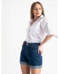 0652 Defile синие джинсовые шорты котоновые (6 ед. размеры: 34.36/2.38/2.40): артикул 1121224