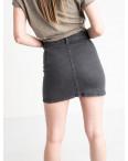 0200-5 Defile юбка на пуговицах серая котоновая (6 ед. размеры: 34.36.38.38.38.40): артикул 1118962