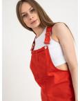 2908 Defile сарафан джинсовый красный котоновый (7 ед. размеры: 34/2.36/2.38/2.40): артикул 1122025
