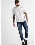 0181-03 мужские джинсы синие котоновые (6 ед. размеры: 30.34.34.34.36.38): артикул 1117291