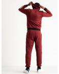 1660-4 бордовый мужской спортивный костюм трикотажный (5 ед. размеры: 46.48.50.52.54): артикул 1119331