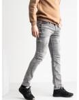 0461 Quartz джинсы мужские серые стрейчевые (8 ед. размеры: 30.31.32.32.33.34.36.38): артикул 1117889