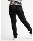 9801 Sunbird черные брюки батальные стрейчевые (6 ед. размеры: 30.32.34.36.38.40): артикул 1104239