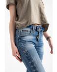 8202 Vanver джинсы женские голубые стрейчевые ( 6 ед. размеры: 25.26.27.28.29.30): артикул 1122246