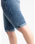 0056-9 AB Relucky шорты батальные женские голубые стрейчевые (6 ед. размеры: 31.32.33.34.36.38): артикул 1120061