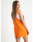 2855 Xray сарафан джинсовый оранжевый котоновый ( 6 ед. размеры: 34/2.36/2.38.40): артикул 1122029