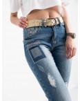 8226 Vanver джинсы женские голубые стрейчевые ( 6 ед. размеры: 25.26.27.28.29.30): артикул 1122245
