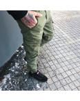 Джоггеры хаки с боковыми карманами (8905-4 Iteno): артикул 1088635