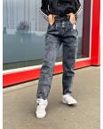 0601-7 Relucky джинсы-слоучи серые стрейчевые (6 ед. размеры: 25.26.27.28.29.30): артикул 1116634