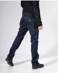 """9079-8 D синие Iteno мужские брюки """"Карманы""""  (33-42, 6/12 ед.) : артикул 1055723"""