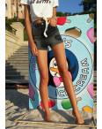 0313 светлый Replus комбинезон - шорты женский летний котоновый (25,26,27,27,29, 5 ед.): артикул 1088032