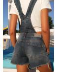 0313 темный Replus комбинезон - шорты женский летний котоновый (25,26,27,27,28,29, 6 ед.): артикул 1088031