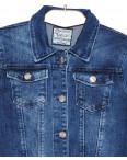 0001 Gecce тёмно-синяя (S-XL, 6 ед.) куртка женская весенняя стрейчевая: артикул 1077624