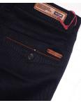 0050-5 Feerars брюки мужские молодежные с косым карманом темно-синие весенние стрейчевые (28-36, 8 ед.): артикул 1087760
