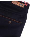 0037-5 Feerars брюки мужские с косым карманом темно-синие весенние стрейчевые (29-38, 8 ед.): артикул 1087761