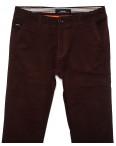 0038-31 Feerars брюки мужские с косым карманом коричневые весенние стрейчевые (29-38, 8 ед.): артикул 1087763
