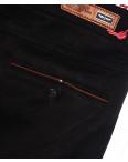 0037-34 Feerars брюки мужские с косым карманом черные весенние стрейчевые (29-38, 8 ед.): артикул 1087765