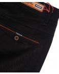 0038-34 Feerars брюки мужские с косым карманом черные весенние стрейчевые (29-38, 8 ед.): артикул 1087770