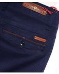 0050-1 Feerars брюки мужские молодежные с косым карманом синие весенние стрейчевые (28-36, 8 ед.): артикул 1087771