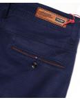 0037-1 Feerars брюки мужские с косым карманом синие весенние стрейчевые (29-38, 8 ед.): артикул 1087774