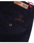 0037-D-5 Feerars брюки мужские батальные с косым карманом темно-синие весенние стрейчевые (32-42, 8 ед.): артикул 1087775