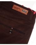 0037-31 Feerars брюки мужские с косым карманом коричневые весенние стрейчевые (29-38, 8 ед.): артикул 1087777
