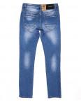 2063 Fang джинсы мужские молодежные с теркой весенние стрейчевые (28-34, 8 ед.): артикул 1087809