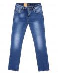 2060 Fang джинсы мужские классические с теркой весенние стрейчевые (30-38, 8 ед.): артикул 1087814