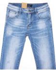 2072 Fang джинсы мужские молодежные с теркой весенние стрейчевые (28-34, 8 ед.): артикул 1087820
