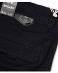 7656 (12) Regass брюки мужские батальные темно-синие на манжете с карманами весенние стрейчевые (32-40, 8 ед.): артикул 1087918