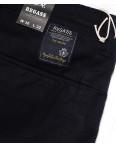 7658 (12) Regass брюки мужские темно-синие на манжете с карманами весенние стрейчевые (30-38, 8 ед.): артикул 1087919