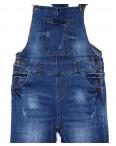 A 0304-2 Relucky комбинезон-джинсы женский с царапками стрейч-котон (25-30, 6 ед.): артикул 1087964