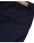 0368-3 Disvocas брюки мужские темно-синие батальные с косым карманом весенние стрейчевые (32-42, 8 ед.): артикул 1088053